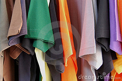 Short sleeved t-shirts