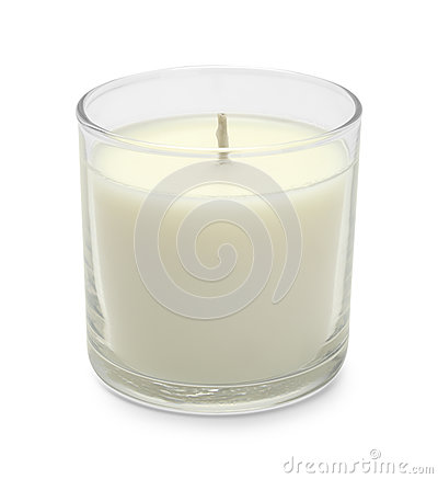 Free Short White Candle Royalty Free Stock Photography - 85651877