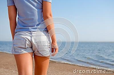 Shorts and beach