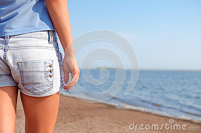 Shorts and beach
