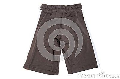 Shorts for child on white