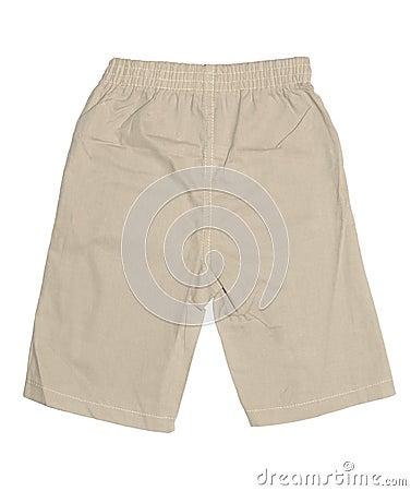 Shorts do menino