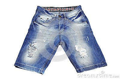 Shorts strappati
