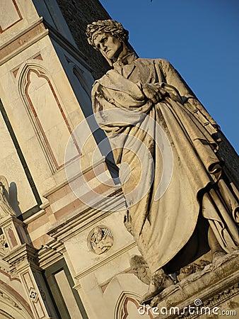 Shot of Dante Alighieri