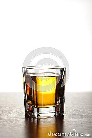 Free Shot Of Whiskey Royalty Free Stock Image - 13350556