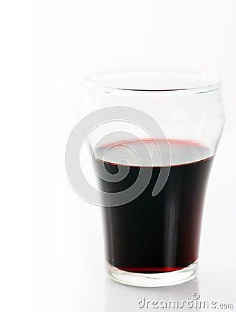 Shot of port wine