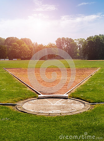 Shot Put field