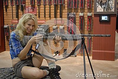 SHOT Show Las Vegas Editorial Stock Photo