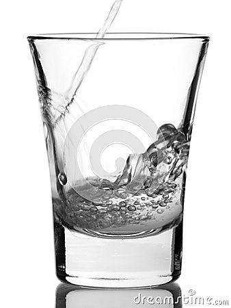 Shot of vodka