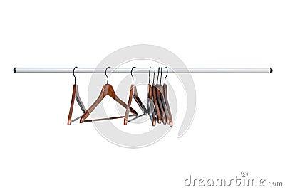 Shoulder on the hanger