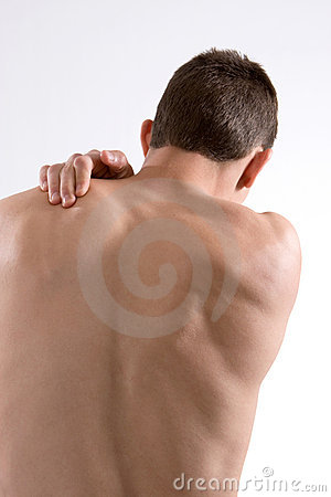 Free Shoulder Pain Stock Photo - 8457650