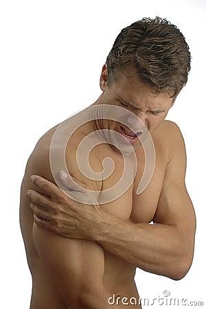 Free Shoulder Pain Stock Image - 9919521