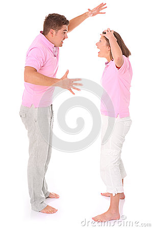 Shouting couple