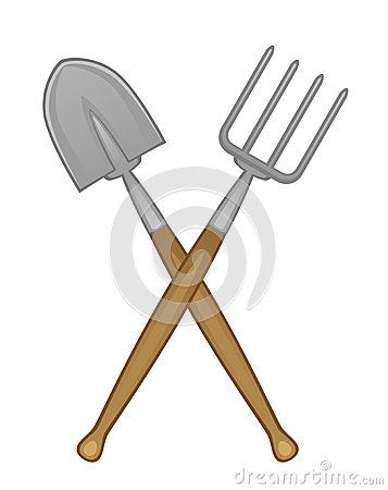 Free Shovel And Pitchfork Royalty Free Stock Photography - 32491827