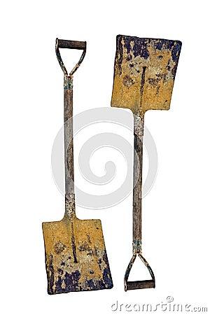Free Shovel Isolated On A White Background. Stock Photo - 21313590