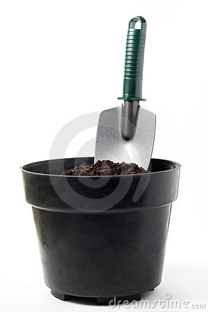 Shovel on Pot