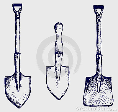 Shovel sketch