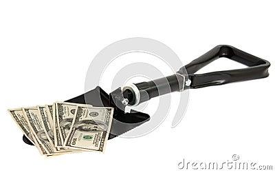 Shovel to the dollar