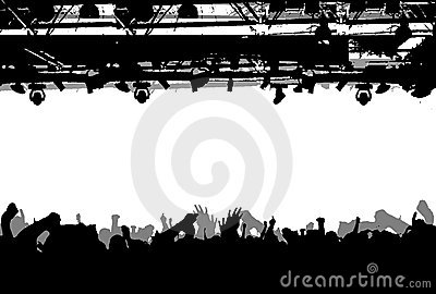 Show Crowd Silhouette.