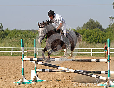 Show jumping Editorial Image