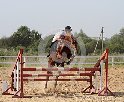 Show jumping Editorial Photo