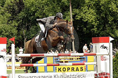Show-jumping, Editorial Image