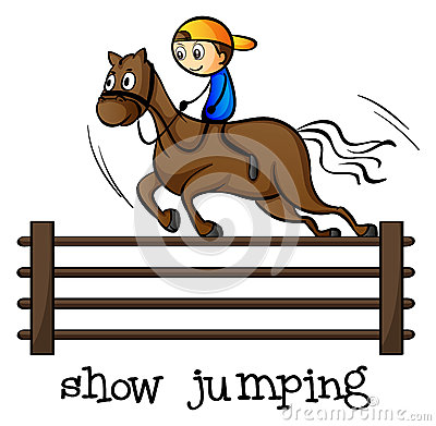 A show jumping
