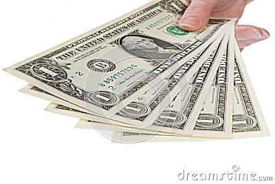 Show me the money, 1 dollar