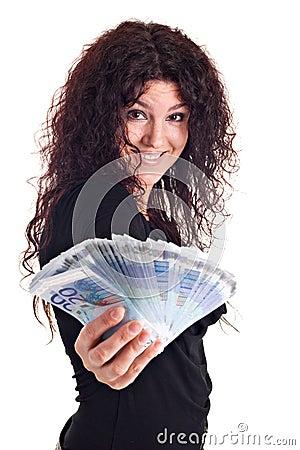 Free Show Me The Money Stock Photos - 2434173