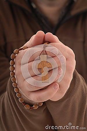 Show a religious cross
