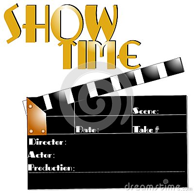 Free Show Time Concept Royalty Free Stock Photo - 40774645