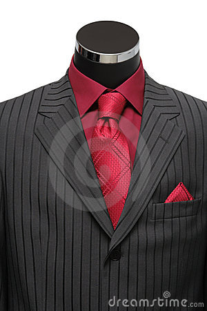 Free Showcase Mannequin Dressed In Suit Stock Images - 11872864