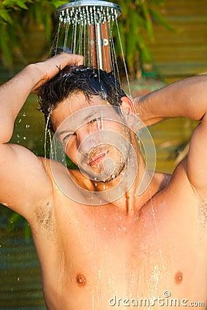 Shower man
