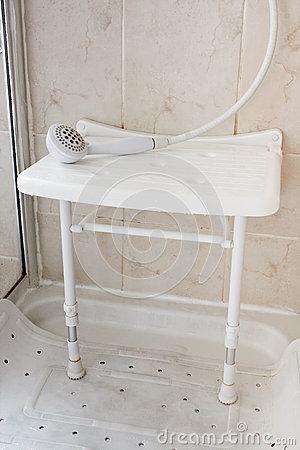 Free Shower Seat Royalty Free Stock Photo - 31366935
