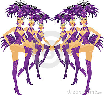 Free Showgirls Stock Images - 15008594