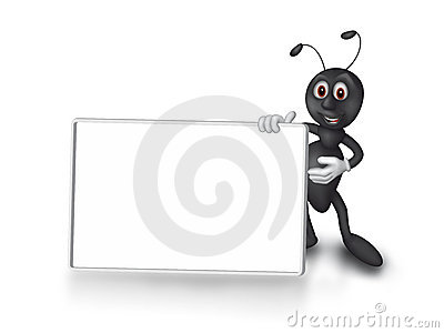 Showing ant