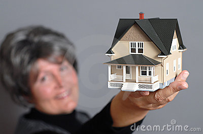 Showing off a house