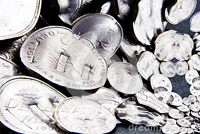Shredded Mark Coins