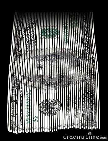 Free Shredding Money Royalty Free Stock Photography - 33142307