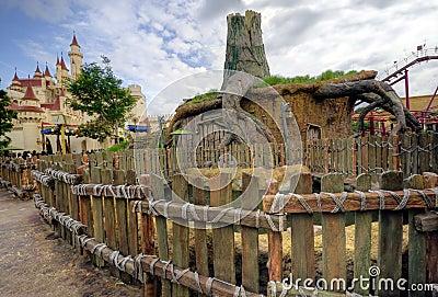 Shrek s House, Universal Studios (Singapore) Editorial Image