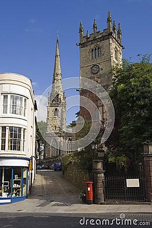 Free Shrewsbury Churches Stock Image - 1358321