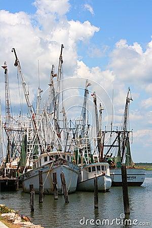 Shrimp Boats 1