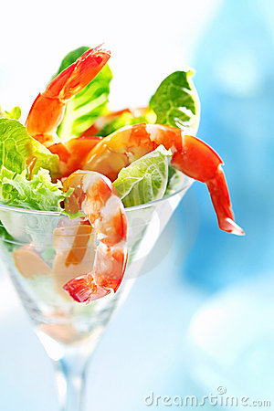 Free Shrimp Cocktail Stock Photos - 10062823