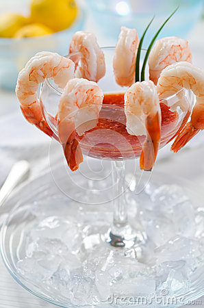 Free Shrimp Cocktail Stock Images - 29545064
