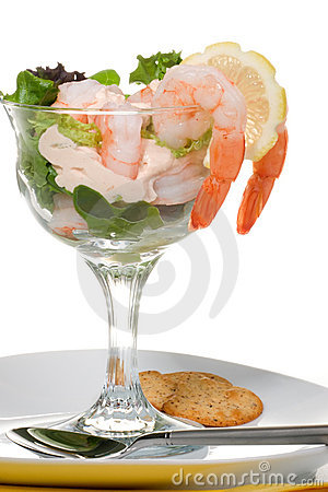 Free Shrimp Cocktail Royalty Free Stock Image - 4963656