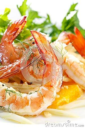 Shrimp and Fennel Salad
