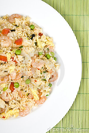 Free Shrimp Fried Rice Royalty Free Stock Photos - 4935008