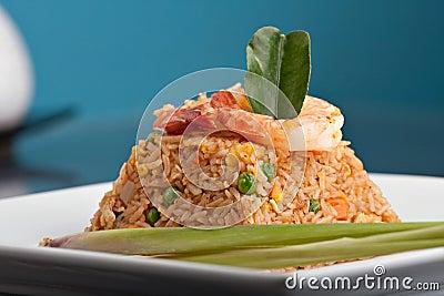 Shrimp Fried Rice Thai Dish