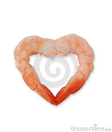Free Shrimp Heart Stock Photography - 2745672