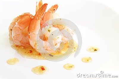 Shrimp With Herbs